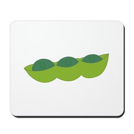 Sleepy Peas Mousepad