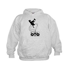 Breakdancer Black Hoody