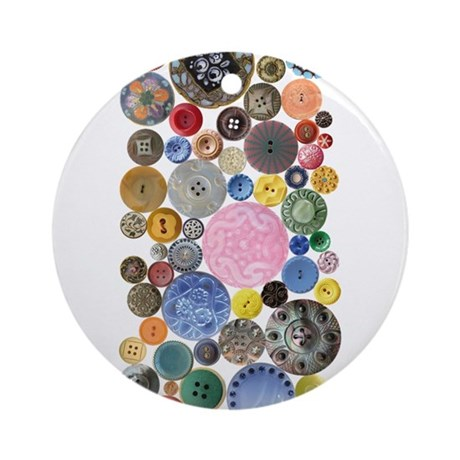 Buttons Ornament (Round)