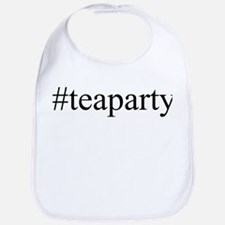 #teaparty Bib