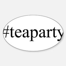 #teaparty Decal
