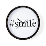 #smile Wall Clock