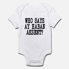 Pinoy Accent Infant Bodysuit
