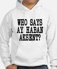 Pinoy Accent Jumper Hoody