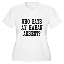Pinoy Accent T-Shirt