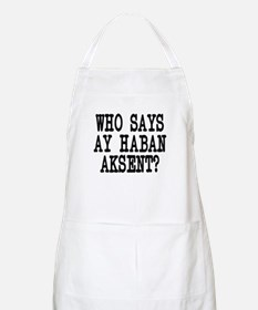 Pinoy Accent Apron