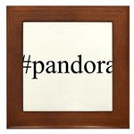 #pandora Framed Tile