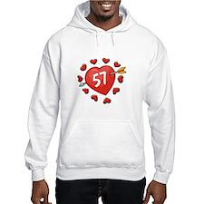 57th Valentine Hoodie