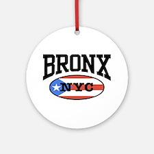 Bronx Puerto Rican Ornament (Round)