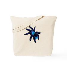 Big, Blue Tarantula Tote Bag