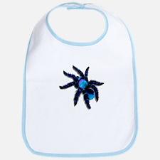 Big, Blue Tarantula Bib
