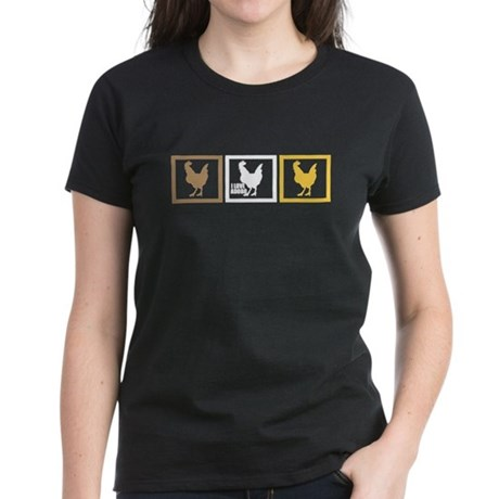I Love Chicken Adobo Women's Dark T-Shirt