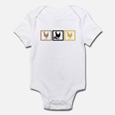 I Love Chicken Adobo Infant Bodysuit