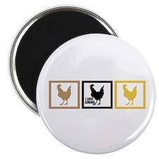 "I Love Chicken Adobo 2.25"" Magnet (10 pack)"
