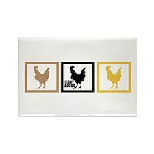 I Love Chicken Adobo Rectangle Magnet