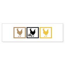 I Love Chicken Adobo Bumper Sticker