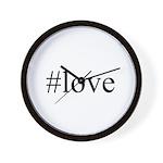 #love Wall Clock