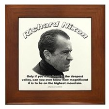 Richard Nixon 01 Framed Tile
