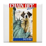 Chain Off 2010: St. Bernard Tile Coaster