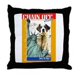 Chain Off 2010: St. Bernard Throw Pillow