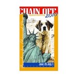 Chain Off 2010: St. Bernard Sticker (Rectangle 50