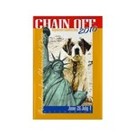 Chain Off 2010: St. Bernard Rectangle Magnet (10 p