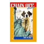 Chain Off 2010: St. Bernard Postcards (Package of