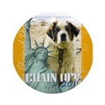 Chain Off 2010: St. Bernard Ornament (Round)