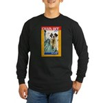 Chain Off 2010: St. Bernard Long Sleeve Dark T-Shi