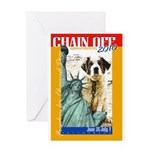 Chain Off 2010: St. Bernard Greeting Card