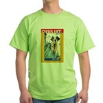 Chain Off 2010: St. Bernard Green T-Shirt