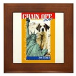 Chain Off 2010: St. Bernard Framed Tile