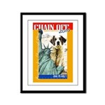 Chain Off 2010: St. Bernard Framed Panel Print