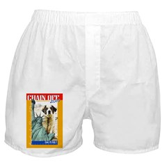 Chain Off 2010: St. Bernard Boxer Shorts