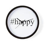 #happy Wall Clock