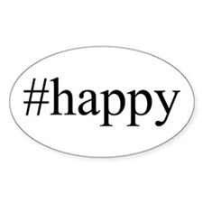 #happy Decal