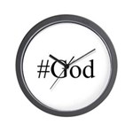 #God Wall Clock