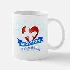 Adoption is a beutiful thing. Mug