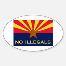 THE STATE WITH GUTS Sticker (Oval 10 pk)