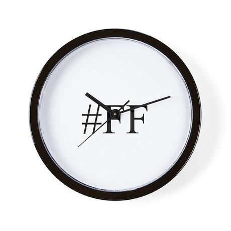 #FF Wall Clock