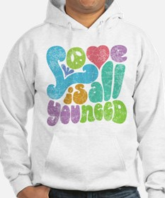 Love is All II Jumper Hoody