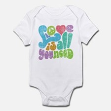Love is All II Infant Bodysuit