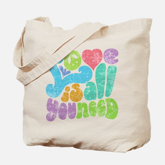 Love is All II Tote Bag