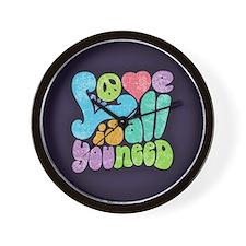 Love is All II Wall Clock