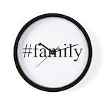 #family Wall Clock