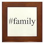 #family Framed Tile