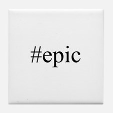 #epic Tile Coaster