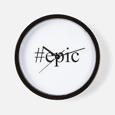 #epic Wall Clock