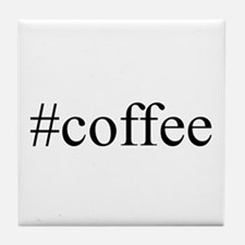 #coffee Tile Coaster