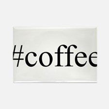 #coffee Rectangle Magnet